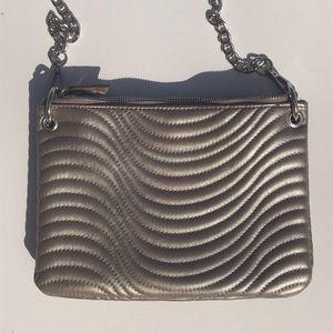 Max Studio Quilted Vegan Leather Crossbody Bag